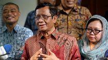 Mahfud Md Nilai Idul Fitri Momen Tepat Bertemunya Jokowi-Prabowo
