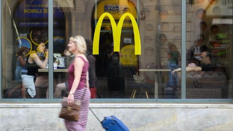 Ilustrasi McDonalds (CNN)