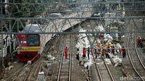 Potret Perawatan Jalur Kereta Api Jelang Arus Mudik