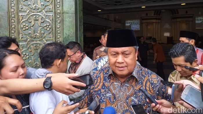 Gubernur Bank Indonesia Perry Warjiyo/Foto: Sylke Febrina Laucereno/detikFinance