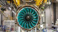 Mesin UltraFan dari Rolls-Royce (BBC)