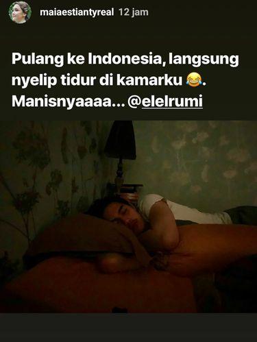 Pulang ke Indonesia, El Rumi Kenapa Masuk Rumah Sakit?
