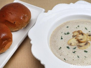 Resep Ramadan : Sup Krim Jamur