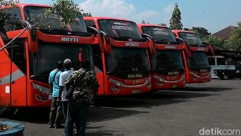 Ada 1.000 Lebih Bus dan Angkot yang Siap Layani Pemudik di Wonogiri