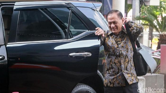 Mantan Menteri Keuangan Agus Martowardojo (Foto: Ari Saputra/detikcom)