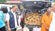 BNN Sita 300 Kg Ganja dari Mobil Boks Limbah B3 di Cilegon