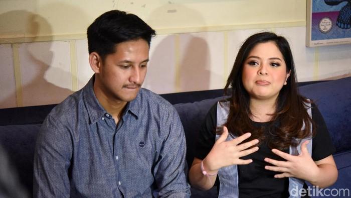 Tasya Kamila dan Randi Bachtiar saat ditemui di kawasan Brawijaya.