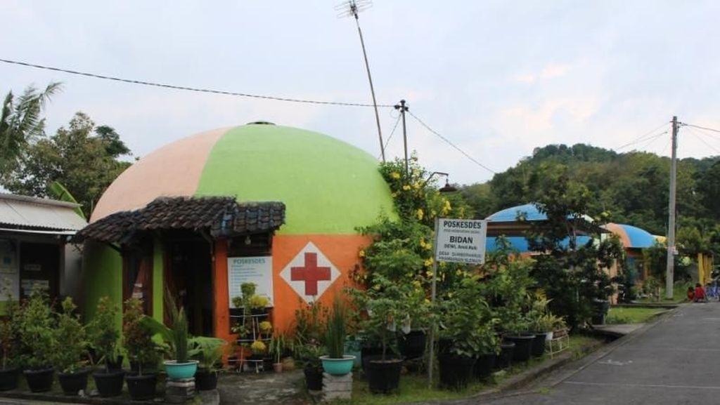 Rumah Teletubbies, Bangunan Unik Anti Gempa di Yogya