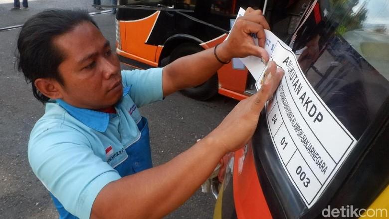 Puluhan Armada AKDP Banjarnegara-Purwokerto Dilarang Angkut Pemudik