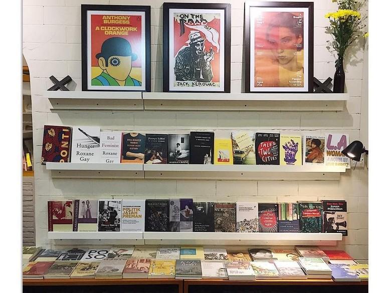 Menjamurnya Toko Buku Indie di Jakarta  Foto: Post_Santa/ Istimewa