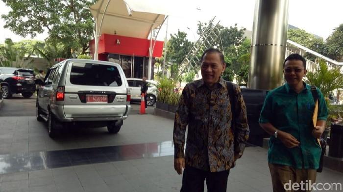 Eks Menkeu Agus Martowardojo (Faiq/detikcom)