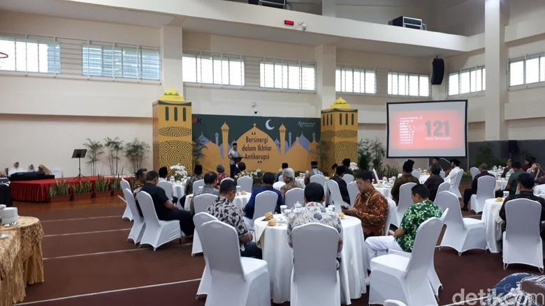 Di Acara Buka Bersama, KPK Beberkan Capaian Selama Tahun 2018