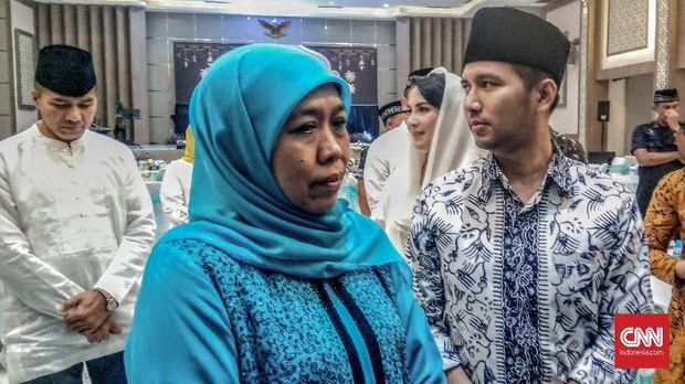 Gubernur Jatim Khofifah Indar Parawansa disebut akan kunjungi Polsek Sampang yang dibakar massa.