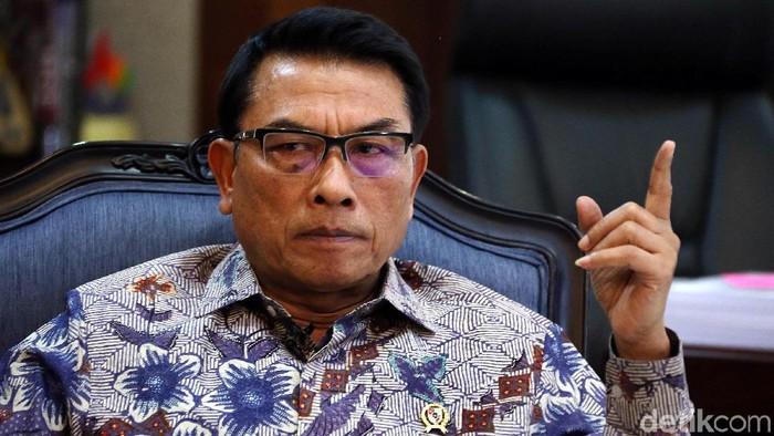 Kepala Staf Kepresidenan Moeldoko/Foto: Rengga Sancaya/detikcom