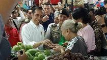 Blusukan ke Pasar Badung Bali, Jokowi Borong Aneka Buah