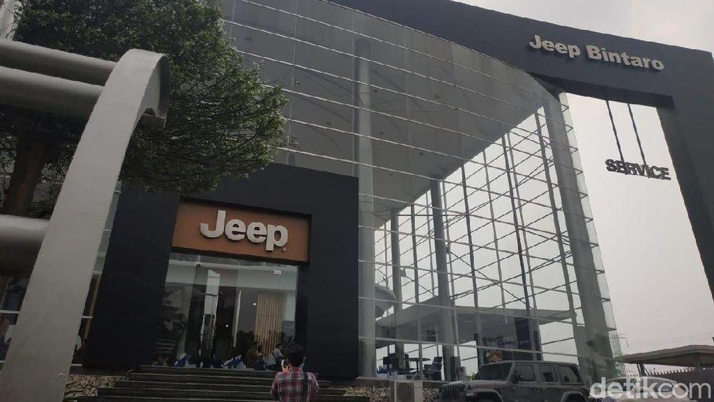 Kandang Baru Mobil Kekar Jeep di Bintaro