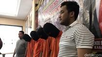Polisi Tangkap 4 Pelaku Curanmor Bersenpi di Jaksel