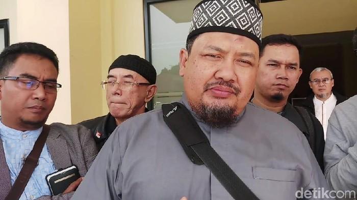 Ketua Gerakan Nasional Pengawal Fatwa Ulama Bogor Raya Iyus Khaerunnas Foto: Farih Maulana/detikcom
