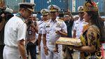 Dua Kapal AL Australia Merapat di Tanjung Priok