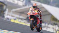 Demi Jalankan Strategi, Marquez Rela Crash di Kualifikasi MotoGP Prancis