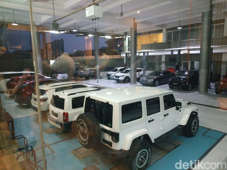 Mpbil-mobil Jeep. Foto: Ridwan/detikOto