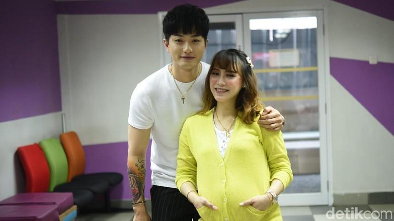 Lee Jeong Hoon dan Moa Foto: Noel/detikHOT