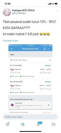 Pak Menhub, Kok Tiket Pesawat Tak Kunjung Turun Juga?