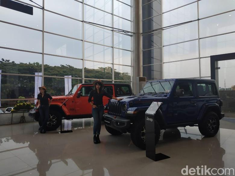 Mobil Amerika Jeep. Foto: Ridwan/detikOto
