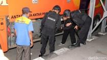 Cegah Teror di Bulan Ramadhan, Polisi Razia Penumpang Bus Bungurasih