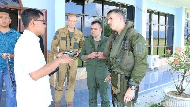 7 Pesawat Tempur Prancis yang Mendarat Darurat di Aceh Lagi Latihan di Laut Lepas