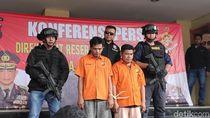 Kuras Puluhan Juta Duit Nasabah, 2 Pelaku Ganjal ATM Dibekuk Polisi