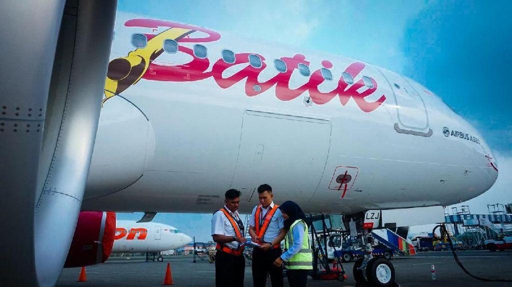 Pilot Batik Air Dilarikan ke Rumah Sakit Usai Mendarat Darurat di Kupang
