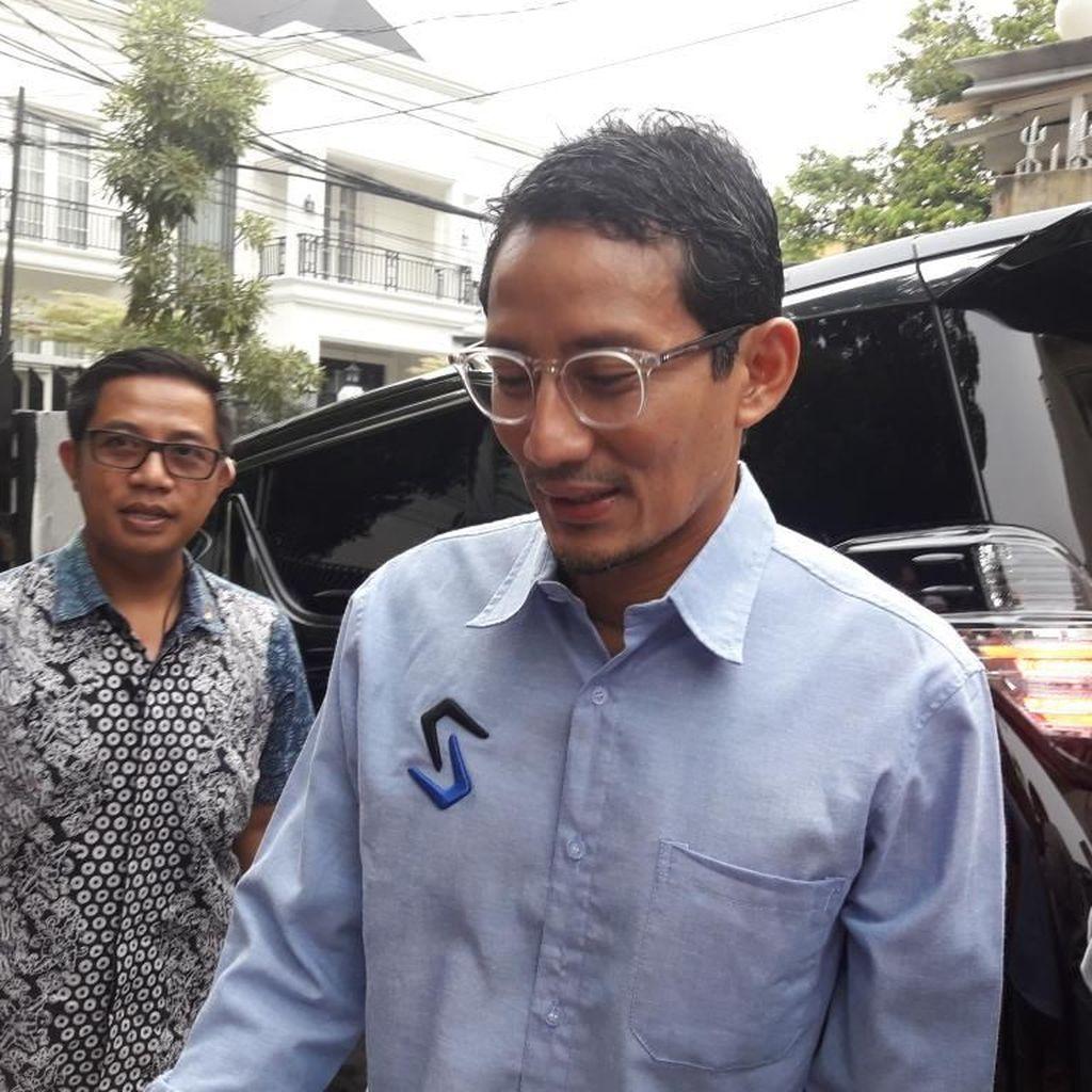 Sandiaga Tak Diajak Prabowo ke Brunei