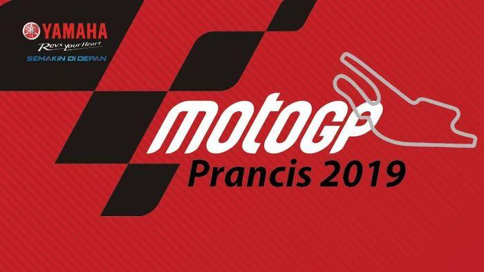 MotoGP Prancis 2019 dihelat mulai pukul 19.00 malam WIB (Infografis Detiksport)