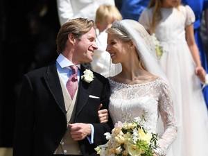 Cantiknya Lady Gabriella, Putri Inggris yang Baru Gelar Royal Wedding