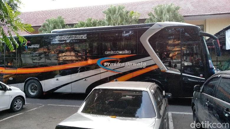 Di Malang, Satu Bus Rombongan Peserta Aksi 22 Mei Diamankan Polisi
