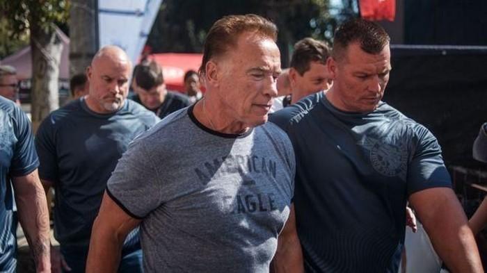 Arnold diserang saat menghadiri acara olahraga. (Foto: BBC)