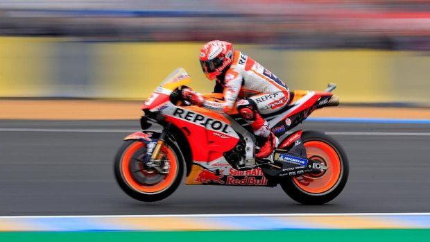 Marquez tak bisa dikejar lagi oleh para pebalap lainnya. (
