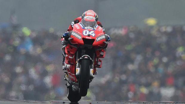 Dovizioso: Rossi Tak Lakukan Hal Gila di MotoGP Malaysia