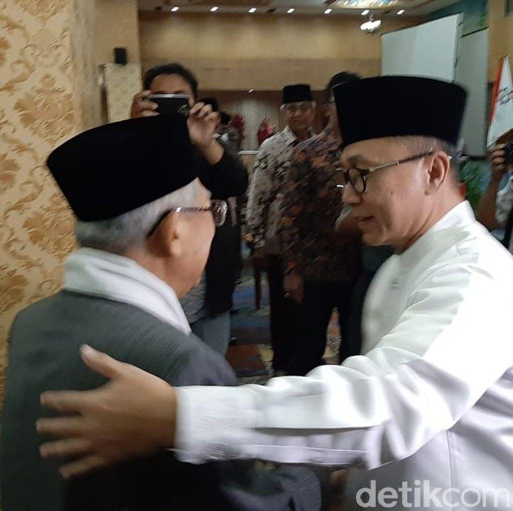 Zulkifli Ucapkan Selamat ke Maruf Amin, PAN: Silakan Ditafsirkan Sendiri