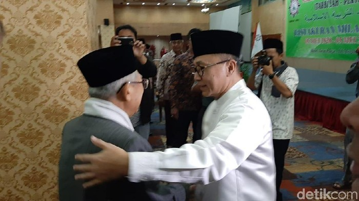 Foto: Zulkifli dan Maruf Amin (Lisye Sri Rahayu/detikcom)