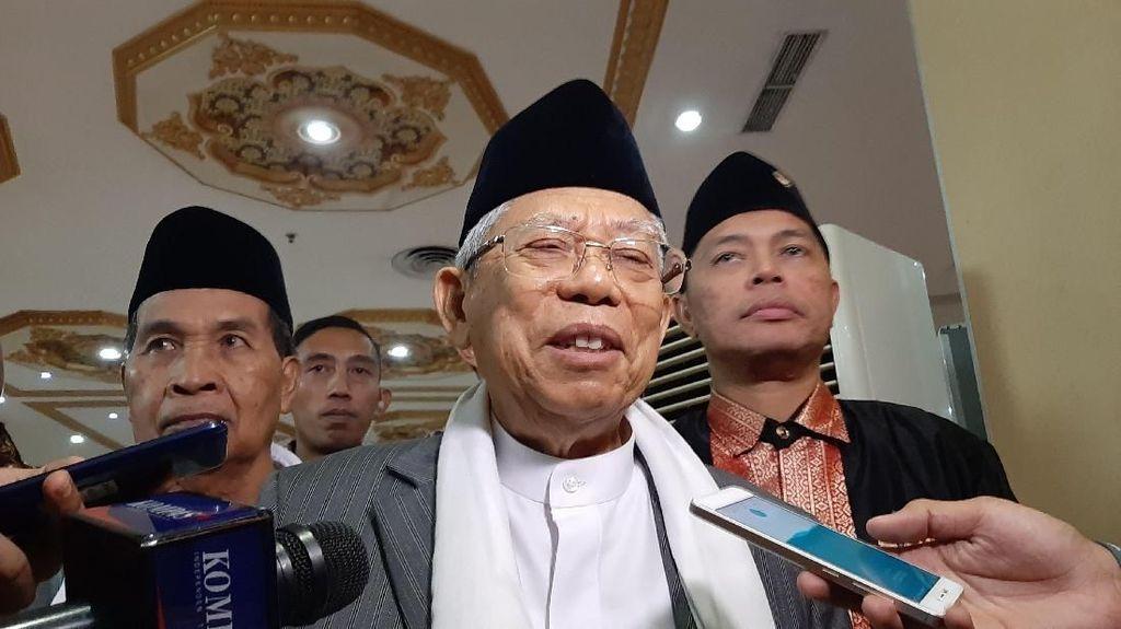 Tanah RI Subur Tapi Impor Pangan, Maruf Amin: Ini Pertanyaan Besar
