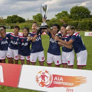 Tim Putri Indonesia: Juara di London, Lalu Latihan Bareng Tim Wanita Spurs