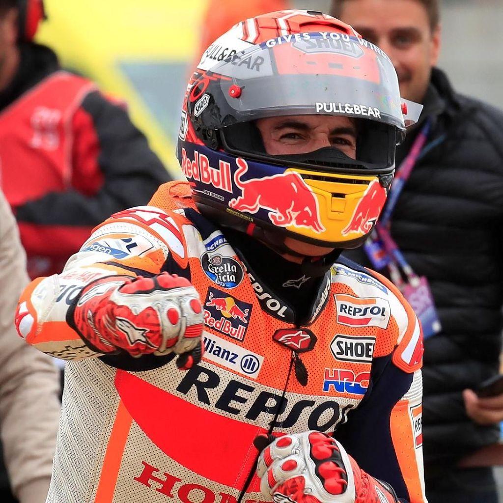 Kemarin Rossi, Kini Lorenzo yang Rekornya Disamai Marquez