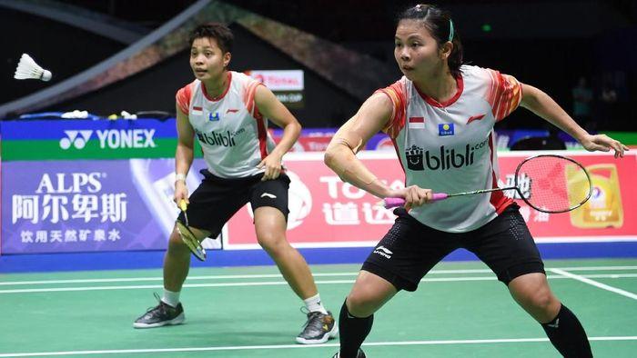 Indonesia menang 4-1 atas Inggris di partai pembuka Piala Sudirman 2019 (ANTARA FOTO/Wahyu Putro A)