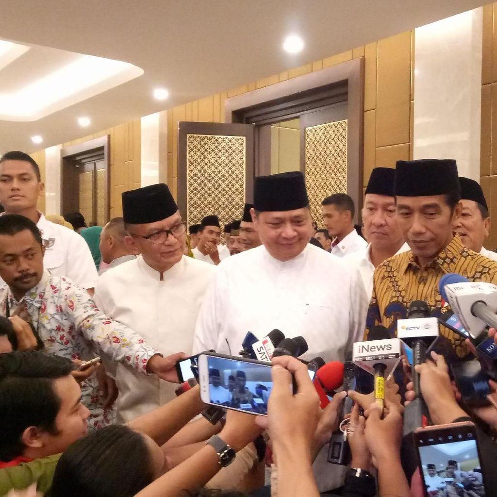 Golkar Ingin Jadi Ketua MPR, Jokowi: Sebagai Pemenang Kedua Ya Wajar