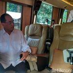 Naik Bus, Budi Karya Cek Kesiapan Jalur Mudik Tol Trans Jawa
