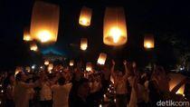 Foto: Saat Langit Borobudur Bercahaya