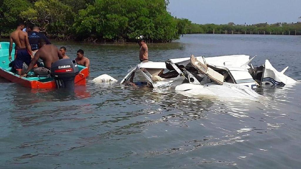 Video: 5 Turis Tewas dalam Kecelakaan Pesawat di Honduras
