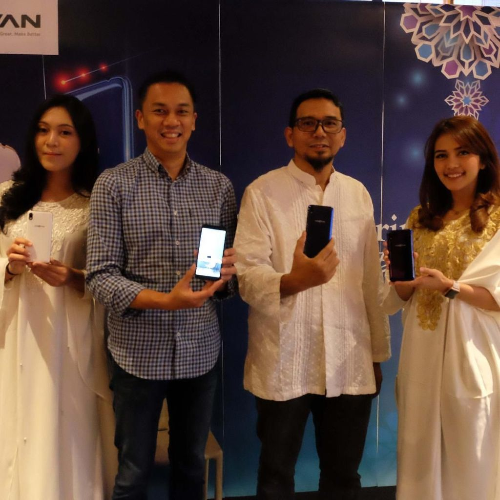 Advan i6C, Smartphone Rp 900 Ribuan dengan Fitur Anti-Maling
